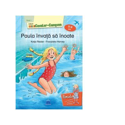 Paula invata sa inoate, nivel 1, 5-6 ani - Katja Reider, Franziska Harvey