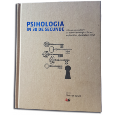 Psihologia in 30 de secunde - Christian Jarrett