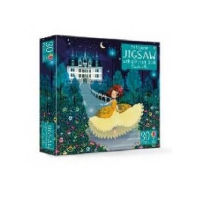 An Usborne Jigsaw with a Picture Book Cinderella - Susanna Davidson