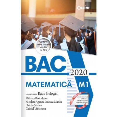 Bacalaureat 2020 Matematica M1 - Radu Gologan (coord.)