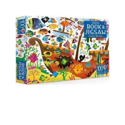 Book & Jigsaw Under the Sea - Kirsteen Robson