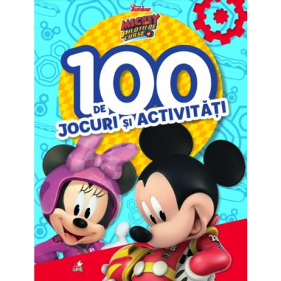 Disney Junior. Mickey si pilotii de curse. 100 de jocuri si activitati - Disney