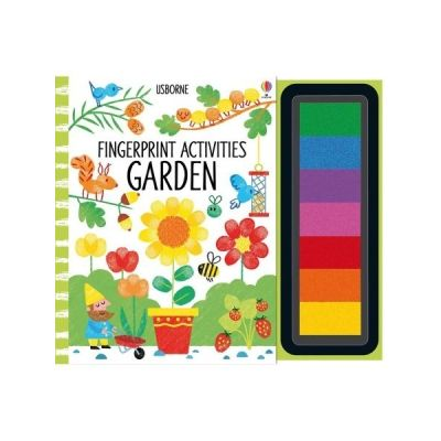 Fingerprint activities. Garden - Fiona Watt