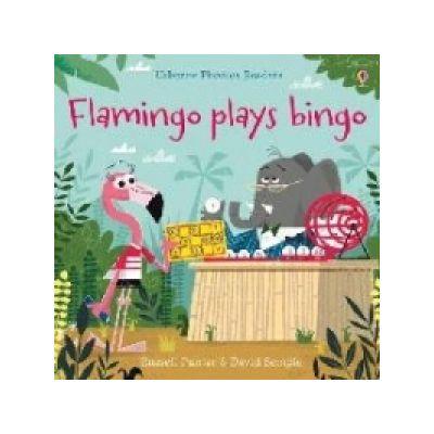 Flamingo plays Bingo - Russell Punter