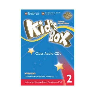 Kid's Box Level 2 Class (editie 2019), contine 4 CD - Caroline Nixon