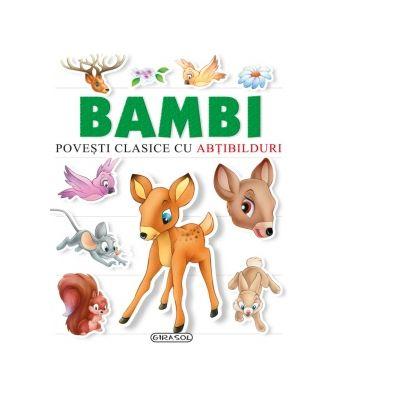Povesti clasice cu abtibilduri. Bambi