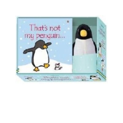 That's Not My Penguin Book and Toy - Fiona Watt
