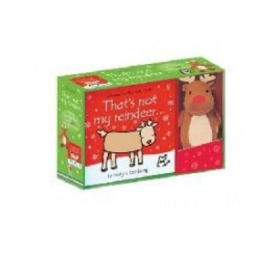 That's not my Reindeer Book and Toy - Fiona Watt
