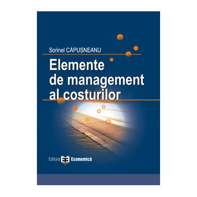 Elemente de management al costurilor - Sorinel Capusneanu