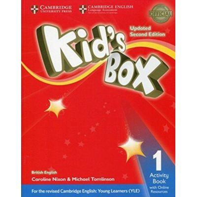 Kid's Box Level 1 Activity Book with Online Resources British English - Caroline Nixon, Michael Tomlinson