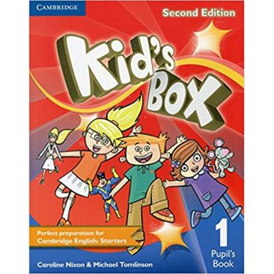 Kid's Box Level 1 Pupil's Book - Caroline Nixon, Michael Tomlinson