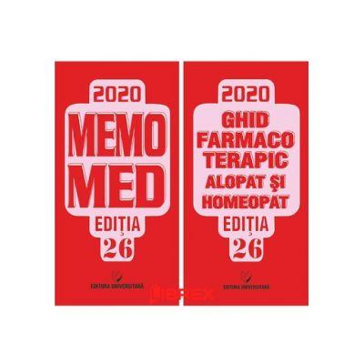 MemoMed 2020, Volumele I si II Dobrescu Dumitru