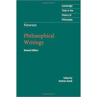 Newton: Philosophical Writings - Andrew Janiak