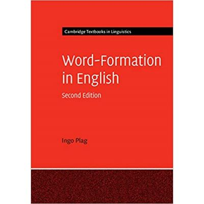 Word-Formation in English- Ingo Plag