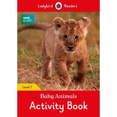 BBC Earth. Baby Animals Activity Book