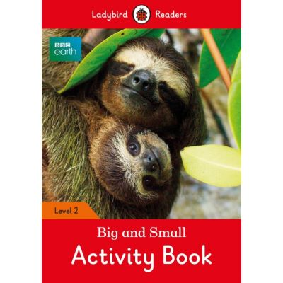 BBC Earth Big and Small Activity Book