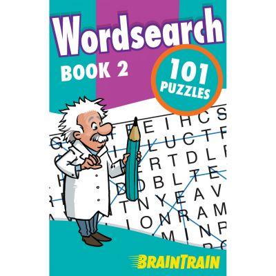 BrainTrain. Wordsearch 101 Puzzles. Book 2