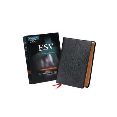 ESV Clarion Reference Bible, Black Edge-lined Goatskin Leather