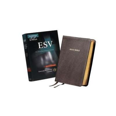 ESV Clarion Reference Bible, Brown Calfskin Leather