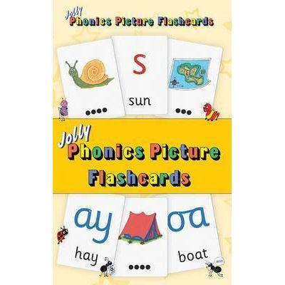 Jolly Phonics Picture Flash Cards - Sara Wernham, Sue Lloyd