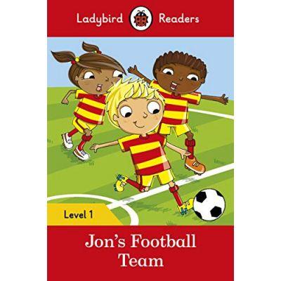 Jon's Football Team. Ladybird Readers Level 1