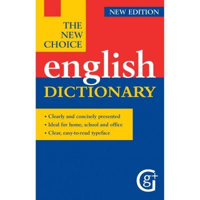 The New Choice English Dictionary