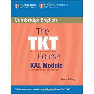 The TKT Course KAL Module - David Albery