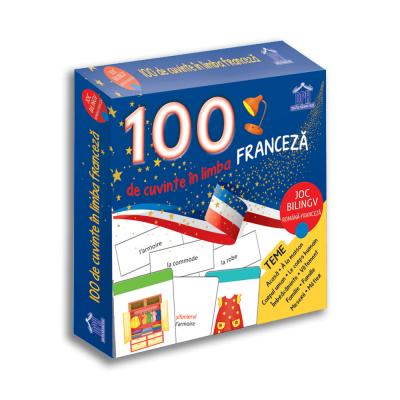 100 de cuvinte in limba franceza. Joc bilingv