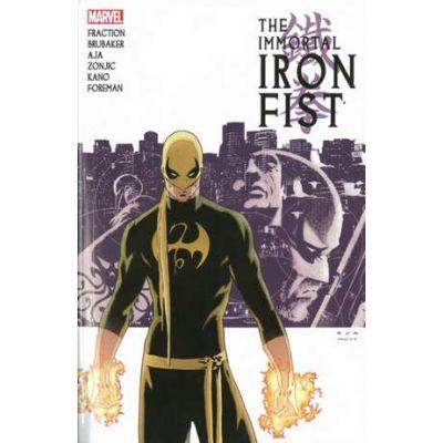 Immortal Iron Fist: The Complete Collection Volume 1 - Ed Brubaker, Matt Fraction