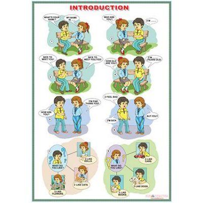 Introduction/The demonstrative pronouns -This is.../Thes are... (DUO) - Plansa viu colorata, cu 2 teme distincte