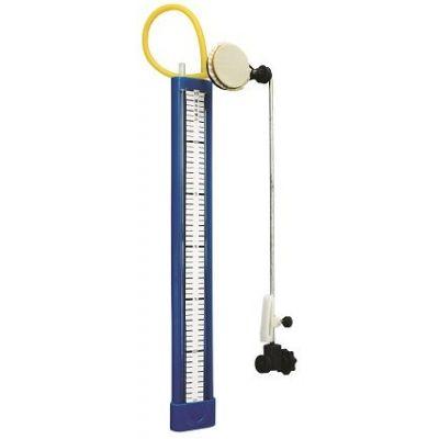 Manometru pentru masurarea presiunilor absolute sau a suprapresiunilor fizice
