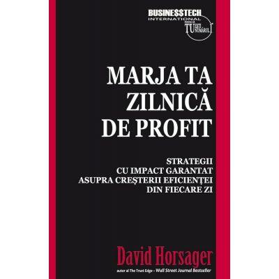 Marja ta zilnica de profit - David Horsager
