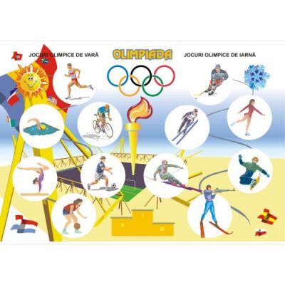Olimpiada / Probe sportive (DUO) - Plansa cu 2 teme distincte