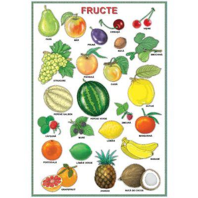 Plansa - Fructe