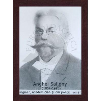 Portret - Anghel Saligny, inginer, academician si om politic (PT-AS)