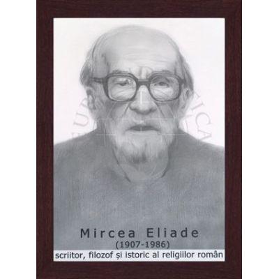 Portret - Mircea Eliade, scriitor, filosof si istoric al religiilor romane (PT-ME)