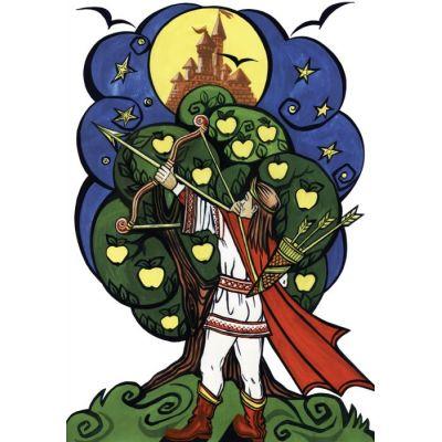 Praslea cel voinic si merele de aur - Plansa poveste (PP12)