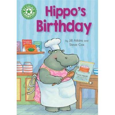 Reading Champion: Hippo's Birthday - Jill Atkins