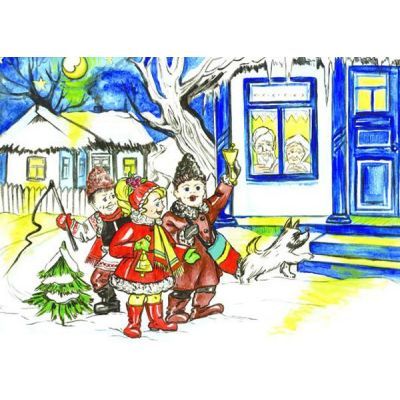 Sarbatori de iarna - Plansa educativa