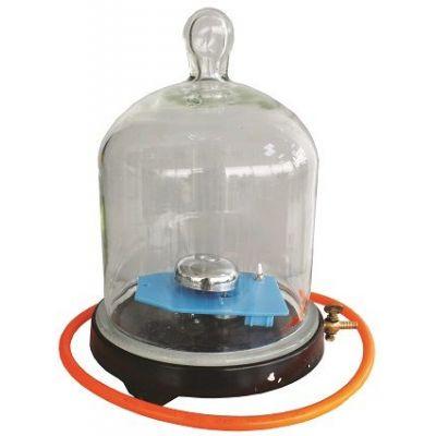 Sonerie in vid - pentru experimentarea transmiterii sunetului in vid