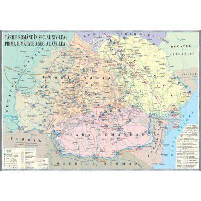 Tarile Romane in secolele XIV-XVI (IHMED8)