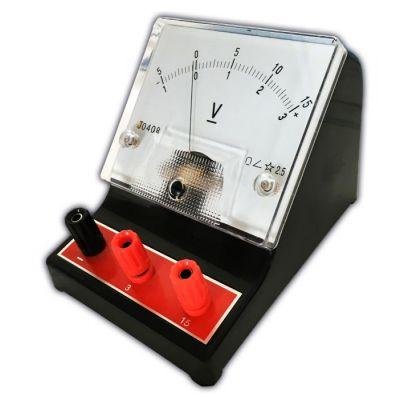 Volmetru CC cu 3 borne - pentru masurarea tensiunii curentului continuu