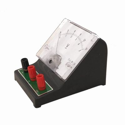 Voltmetru analogic AC cu 3 borne - pentru masurarea tensiunii curentului alternati