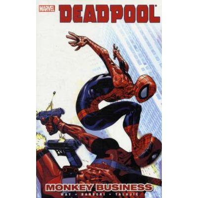 Deadpool Vol. 4: Monkey Business - Daniel Way, Paco Medina