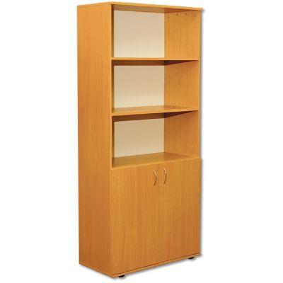 Dulap biblioteca cu 2 usi si rafturi (MBDUA0632)
