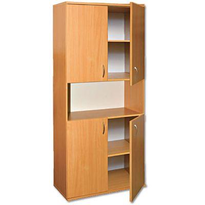 Dulap biblioteca cu yala, cu 4 usi (MBDUA0633Z)