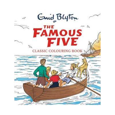 Famous Five Classic Colouring Book - Enid Blyton