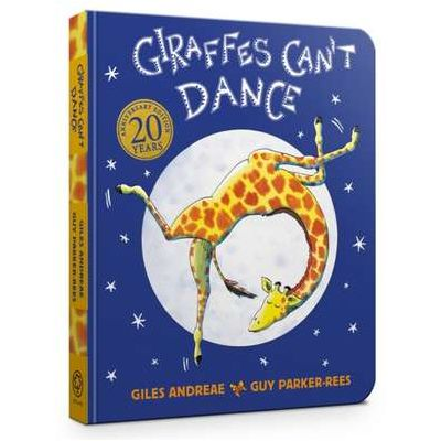 Giraffes Can't Dance Cased Board Book - Giles Andreae