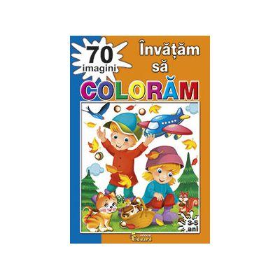 Invatam sa coloram 70 imagini