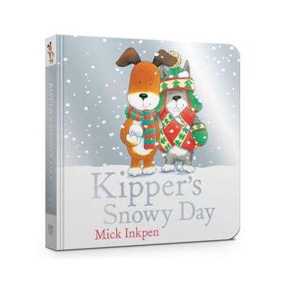 Kipper's Snowy Day Board Book - Mick Inkpen
